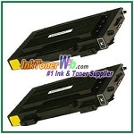 Black Toner Cartridge Compatible with Samsung CLP-510D7K High Yield 7K - 2 Piece