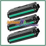 Color Toner Cartridge Compatible with Samsung CLT-C506L CLT-M506L CLT-Y506L High Yield - 3 Piece Combo
