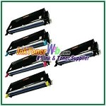 Xerox 113R00723-26 Compatible High Yield Toner Cartridges for Phaser 6180 series - 5 Piece Combo