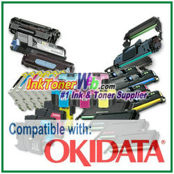 Okidata Compatible Ink & Toner Cartridge Drum Okidata printer