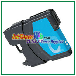Brother LC61 Cyan Ink Cartridge Brother LC61 printer