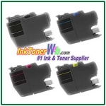 Brother LC3019/3017XL (XXL Series) Super Super High Yield Compatible ink Cartridges - 4 Piece Combo