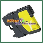 Brother LC61Y Compatible Yellow ink Cartridge