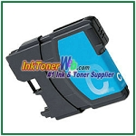 Brother LCHY65C High Yield  Compatible Cyan ink Cartridge