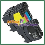 Brother LC65 High Yield Compatible ink Cartridges - 6 Piece Combo