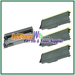 Brother TN350 & DR350 Compatible Toner Cartridge & Drum Unit - 4 Piece Combo