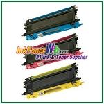 Brother TN115C, TN115M, TN115Y High Yield Compatible Toner Cartridges - 3 Piece Combo