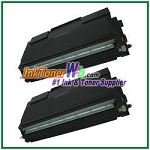 Brother TN-670 Compatible Toner Cartridges - 2 Piece