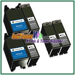 Dell Series 22 Compatible ink Cartridges - 6 Piece Combo