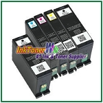 Dell Series 31 Compatible ink Cartridges - 5 Piece Combo