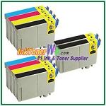 Epson 124 T124120-T124420 Compatible ink Cartridges - 10 Piece Combo (COPY)