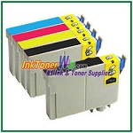Epson 124 T124120-T124420 Compatible ink Cartridges - 5 Piece Combo