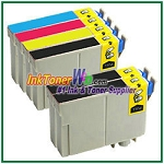 Epson 124 T124120-T124420 Compatible ink Cartridges - 6 Piece Combo