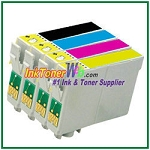 Epson 60 T060120-T060420 Compatible ink Cartridges - 4 Piece Combo