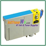 Epson 124 T124220 Compatible Cyan ink Cartridge