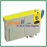Epson 124 T124420 Compatible Yellow ink Cartridge