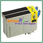 Epson 126 T126120 Compatible Black ink Cartridge -2 Piece