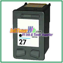 HP 27 Black Ink Cartridge HP 27 printer