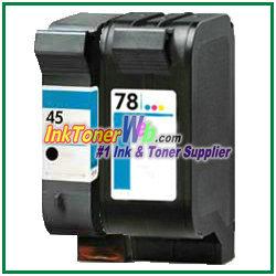 HP 45 78 Ink Cartridges HP 45 78 printer