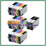 HP 564XL CN684WN-CN687WN CR277WN  (NEW VERSION) Compatible ink Cartridges - 17 Piece Combo