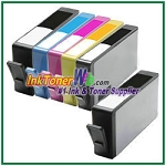 HP 564XL CN684WN-CN687WN CR277WN  (NEW VERSION) Compatible ink Cartridges - 6 Piece Combo