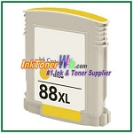 HP 88XL C9393AN Compatible Yellow ink Cartridge