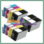 HP 920XL CD975AN CD972AN-CD974AN Compatible ink Cartridges - 10 Piece Combo