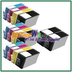 HP 920XL CD975AN CD972AN-CD974AN Compatible ink Cartridges - 14 Piece Combo