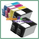 HP 920XL CD975AN CD972AN-CD974AN Compatible ink Cartridges - 6 Piece Combo