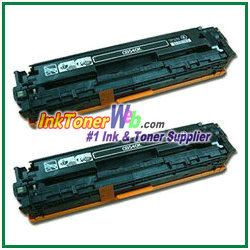 HP CB540AD Dual-Pack Black Toner Cartridge HP CB540AD printer
