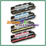 HP 308A / 309A Q2670-73A Compatible Toner Cartridges - 4 Piece Combo