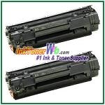 HP CB436AD#004 Toner Cartridge HP CB436AD#004 printer