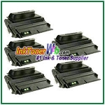 HP 38A Q1338A Compatible Toner Cartridges - 5 Piece
