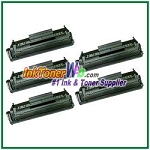 HP 12X Q2612X High Yield Compatible Toner Cartridges - 5 Piece
