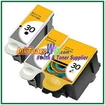 Kodak 30 Compatible ink Cartridges - 3 Piece Combo