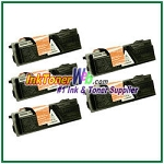 Kyocera Mita TK-132 (TK132) Black Compatible Toner Cartridges - 5 Piece
