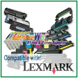 Lexmark X series Toner Cartridge Lexmark X series printer