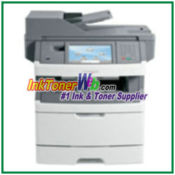 Lexmark X466DE Toner Cartridge Lexmark X466DE printer