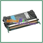Lexmark C524, C532, C534 Cyan High Yield Compatible Toner Cartridge