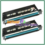 Lexmark X560 Black High Yield Compatible Toner Cartridges - 2 Piece