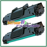 Toner Cartridge Compatible with Samsung ML-2010D3 - 2 Piece