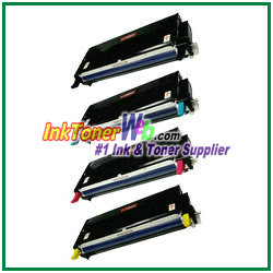 Xerox Phaser 6180 High Yield Compatible Color Toner Cartridges- InkTonerWeb.com