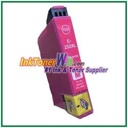 Epson 252XL T252XL320 Compatible Magenta ink Cartridge