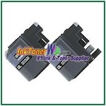 Brother LC107BK (XXL Series) Super High Yield  Compatible Black ink Cartridge -2 Piece