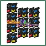 Brother LC203XL Compatible ink Cartridges - 40 Piece Combo