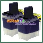 Brother LC41BK Compatible Black ink Cartridge -2 Piece