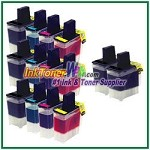 Brother LC41 Compatible ink Cartridges - 14 Piece Combo
