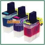 Brother LC41 Compatible ink Cartridges - 3 Piece Combo