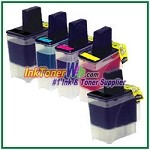 Brother LC41 Compatible ink Cartridges - 5 Piece Combo