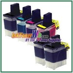 Brother LC41 Compatible ink Cartridges - 6 Piece Combo